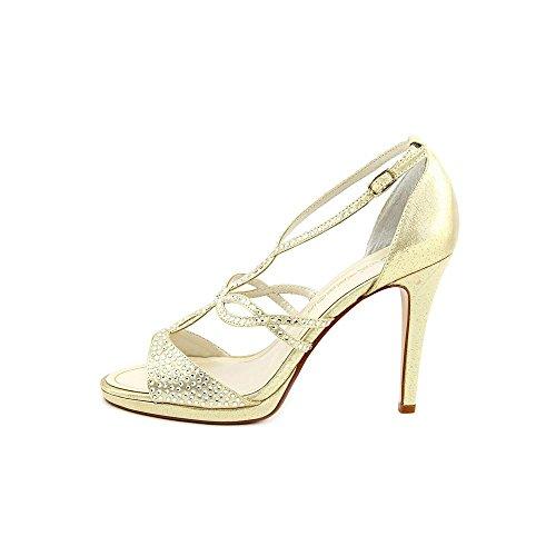 Caparros - Sandalias de vestir para mujer dorado