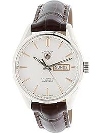 Men's WAR201D.FC6291 Carrera Analog Display Swiss Automatic Brown Watch