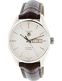 TAG Heuer Men's WAR201D.FC6291 Carrera Analog Display Swiss Automatic Brown Watch