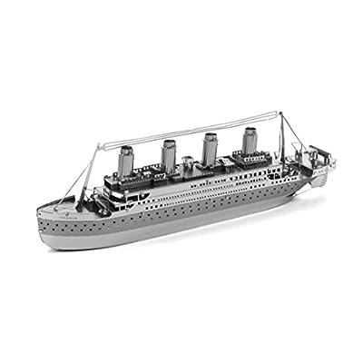 Fascinations Metal Earth Titanic 3D Metal Model Kit: FASCINATIONS: Toys & Games