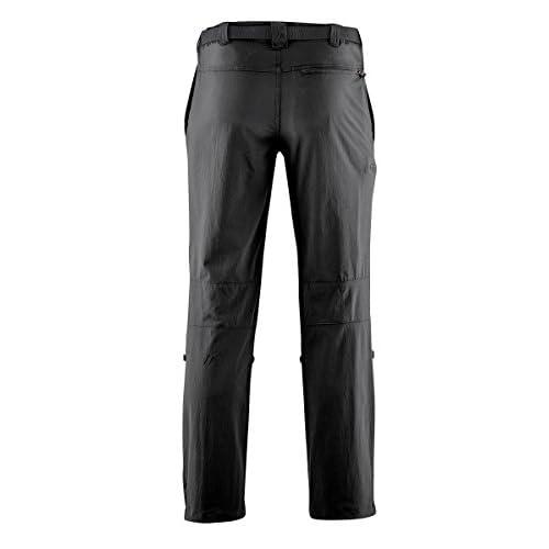 Maier sports Nil Pantalon de randonnée roll up 90 % PA 10 % EL avec ceinture, bi-élastique, séchage rapide et imperméable
