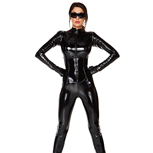 [Forplay Women's Sci-Fi Seductress, Black, X-Small/Small] (Forplay Costumes 2016)