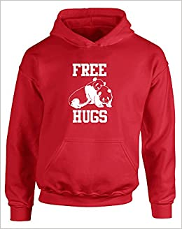 Amazoncom Brand88 Free Hugs Kids Printed Hoodie Fire