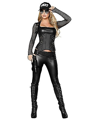 Sexy Swat Team Costumes (Sexy SWAT Agent Adult Costume - Small)