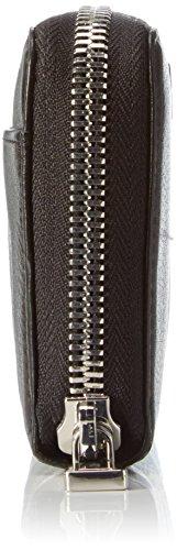 Joop Damen Soft Leather Melete H15FZ Geldbörsen, 19x10x1 cm Schwarz (900)