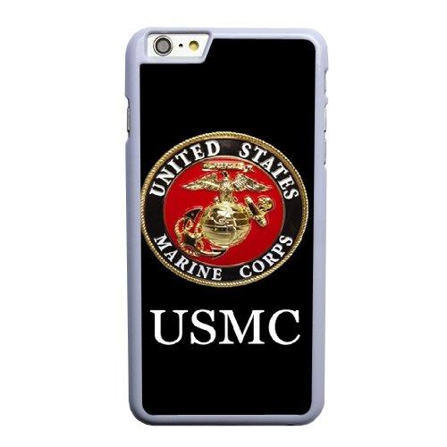 Coque,Apple Coque iphone 6 6S (4.7 pouce) Case Coque, Generic Usmc United States Marine Corps Cover Case Cover for Coque iphone 6 6S (4.7 pouce) blanc Hard Plastic Phone Case Cover