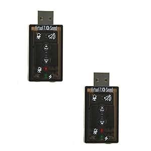 Amazon.com: Sonido USB Tarjeta de sonido externa Audio ...