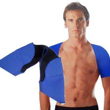 Fascia Sport Protezione Anallergica per Spalle Elastica Proteggi Tutore  Fitness 11f4714615fa