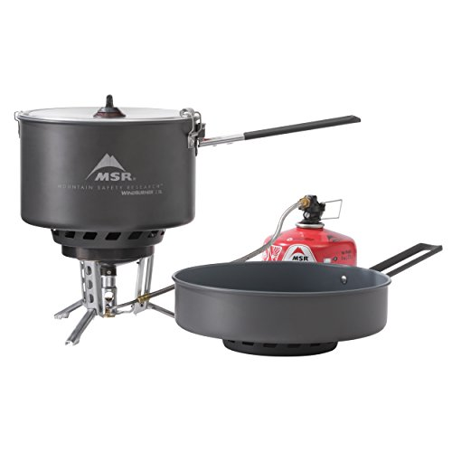 (MSR WindBurner Stove and Cookware System Combo)