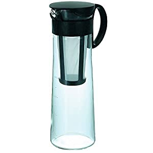 Hario MCPN-14B Water Brew Coffee Pot, 1000ml, Black