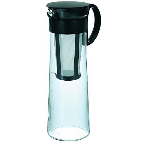 Hario Mizudashi Cold Brew Iced Coffee Pot/Maker (1000ml, - Overnight Means Shipping