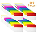 KIMCOME 960 Pieces 2 Inch Tabs Sticky Index