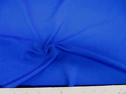 Discount Fabric Lycra /Spandex 4 way stretch Royal Blue Matt Finish LY902