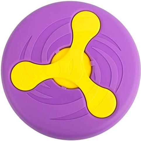 Wandrola Flying Disc Dog Sport Disk Saucer Interactive Toy Multifunctional Pet Float FlyerBoomerang