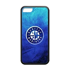 Phone Case & MLB Seattle Mariners Printing Custom Cases for iPhone 5C TPU Case