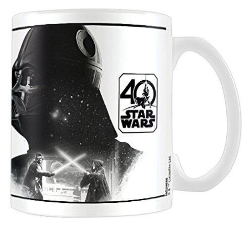 Pyramid International - Taza De Star Wars 40 Aniversario, Modelo Darth Vader: Amazon.es: Videojuegos
