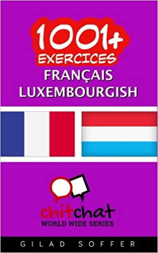 Amazon com: 1001+ exercices Français - Luxembourgish (French