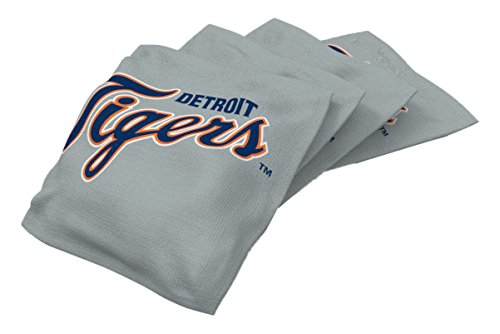 - MLB Detroit Tigers Regulation Duckcloth Bean Bags (4 Pack), 16 oz, Orange