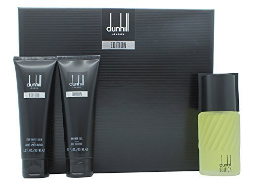 Alfred Dunhill After Shave - Dunhill Edition Gift Set 100ml EDT + 90ml Shower Gel + 90ml Aftershave Balm by Alfred Dunhill