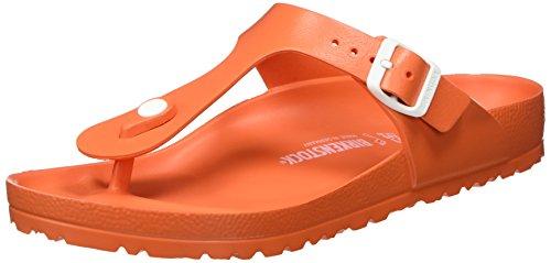 Birkenstock Toe Post Sandal - Birkenstock Gizeh Ladies EVA Toe Post Sandals Scuba Coral 38