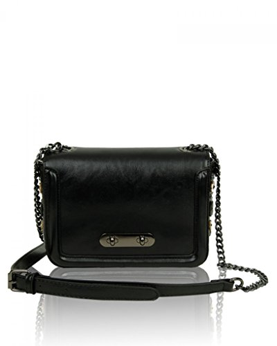 Bow Black Women's Bags Size Chain Ladies LeahWard Strap Small Bag Cross Body qwvO1ncI4