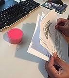 1InTheOffice Sponge Cup Moistener,Fingertip Paper
