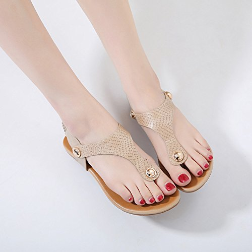 yalanshop Bas avec tongs toe sandales femme été porter joker soft bottom antidérapant pantoufles 35 xQDDyEQHo