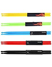 Durable 5A Nylon Drumsticks Kit for Kids Adults Musical Instrument Percussion Accessories