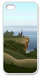 Iphone 6 plus 6 plus PC Hard Shell Case Mountain and Lake White Skin by Sallylotus