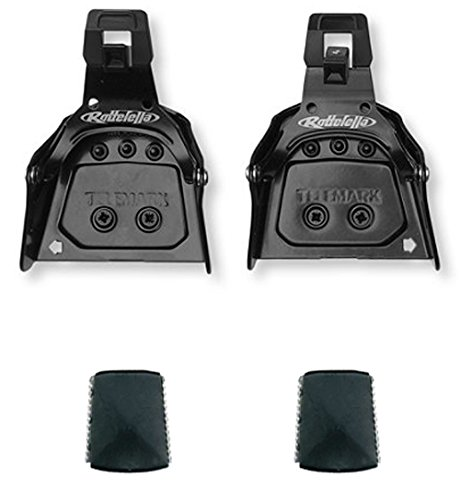 Rottefella Super Telemark 3-Pin 75mm Back Ski Bindings For