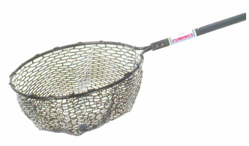 Cumings /3 Bow Net with 38-70-Foot Telescoping Handle, 22-Inch ()