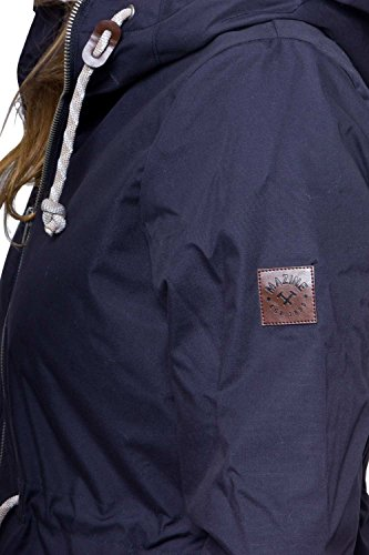 Donna Navy Mazine Blu Da Parka Giacca Vatikan Multicolore xnnZOU