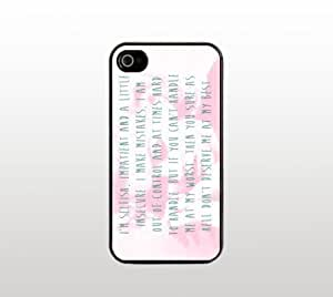 diy zhengMarilyn Monroe Quote Snap-On Case for Apple Ipod Touch 5 5th - Hard Plastic - Black - Cool Custom Cover - Inspirational Quotes