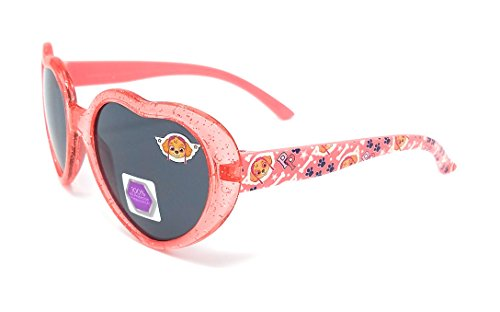 Nickelodeon Heart Shaped Paw Patrol Girls Skye Sunglasses in Red - 100% UV - Paw Sunglasses Patrol