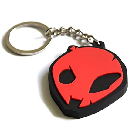 SBR S1000RR S1000R HP4 Motorsport Red Alien Head Key Chain Fob Ring 2009-2014 Style for BMW