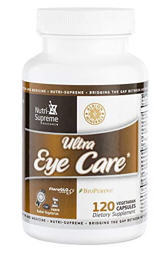 Nutri-Supreme Research Ultra Eye Care with Lutein – 120 Vegetarian Capsules For Sale