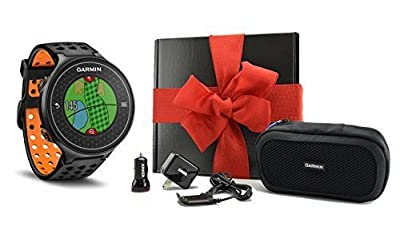 Garmin Approach S6 GIFT BOX   Includes Golf GPS Watch, Case, Wall & Car Charge Adapters (Orange)