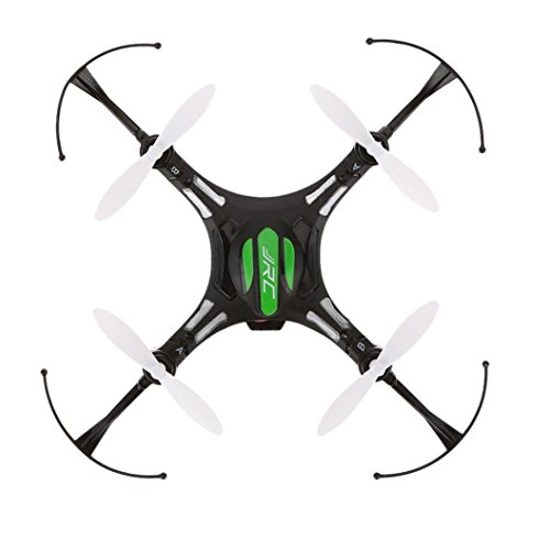 Iusun JJRC H8 Mini 2.4G 4CH 6 Axis RTF RC Quadcopter Led Night Lights CF Mode with Battery, USB Charging Cable, Spare Propeller, Landing Skid Dampinig Ball (Black) (Rc Water Plane Rtf)