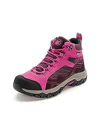 Hiwalk Women's Taurus Professional Waterproof Nubuck Suede Hiking Trekking Boot