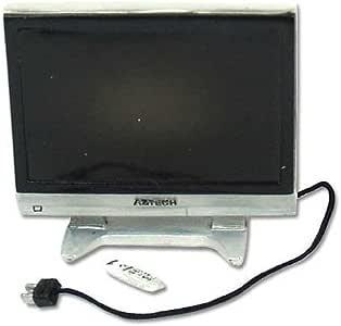 Amazon.es: Miniatura Televisor con Mando a Distancia para Casas de ...