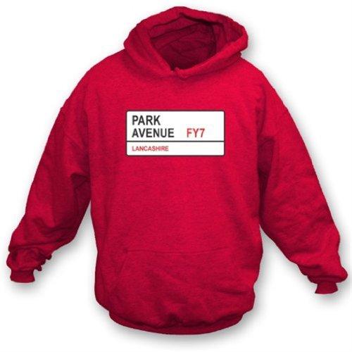 Park Avenue FY7 Hooded Sweatshirt Fleetwood Town XXX-Large from Punk Football