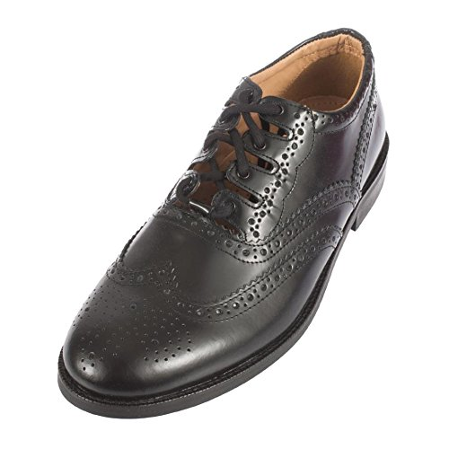 AE Struthers - Thistle The Canny Brogue - Prudent Traditional Leather Ghillie Brogue -