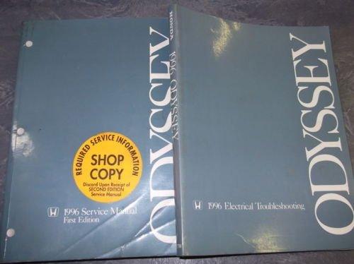 1996 Honda Odyssey Wiring Diagram - Wiring Diagram Schema