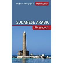 Sudanese Phrasebook (Eton Institute - Language Phrasebooks)
