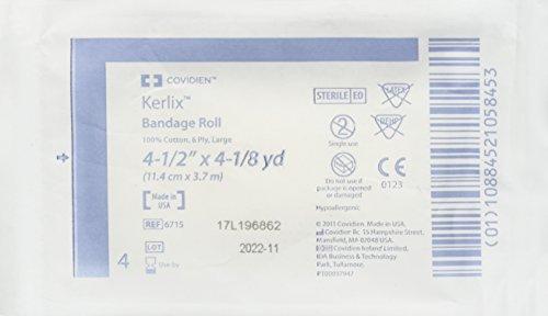 Original Kerlix 6715, Sterile Bandage Rolls 4 1/2