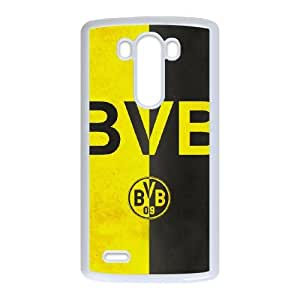 LG G3 Custom Cell Phone Case Borussia Dortmund BVB 09 FC Logo Case Cover WQFF36233