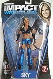 TNA Wrestling Deluxe Impact Series 7 Action Figure Velvet Sky