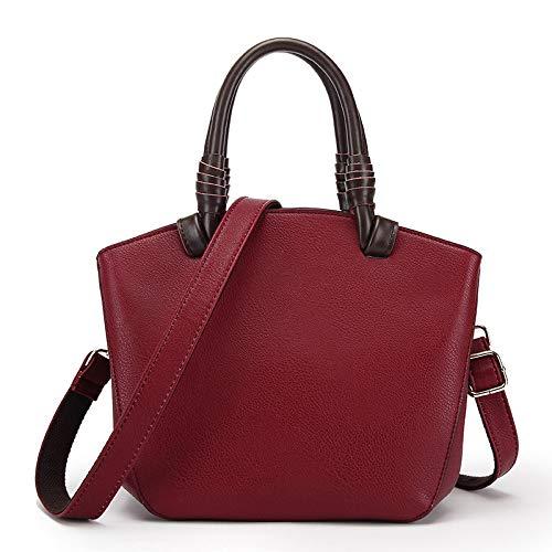 Bag winered Main à Nouveaux Sacs des à à Main Mode Marée YXLONG Version Messenger Main Cuir en Sacs Coréenne Sac épaules Sauvage Rf11wqS
