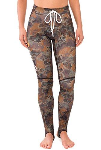 Mares Rash Guard Lycra Pants, Brown Camo, X-Large (Guard Mares Rash)