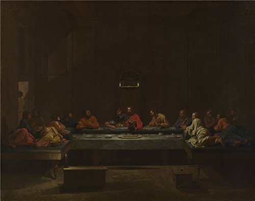 'Nicolas Poussin Eucharist ' Oil Painting, 8 X 10 Inch / 20 X 26 Cm ,printed On High Quality Polyster Canvas ,this Cheap But High Quality Art Decorative Art Decorative Canvas Prints Is Perfectly Suitalbe For Gym Decoration And Home Decoration And Gifts (Pedal New Reproduction Car)